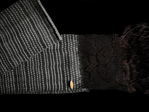 rebozo classic geometro negro 2Gal