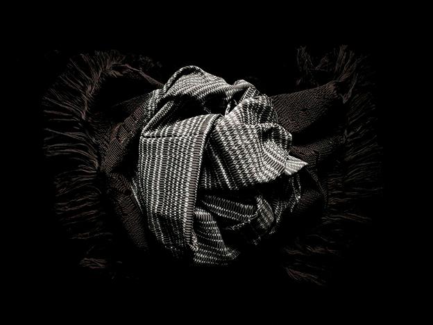 rebozo classic geometro negro 4Gal