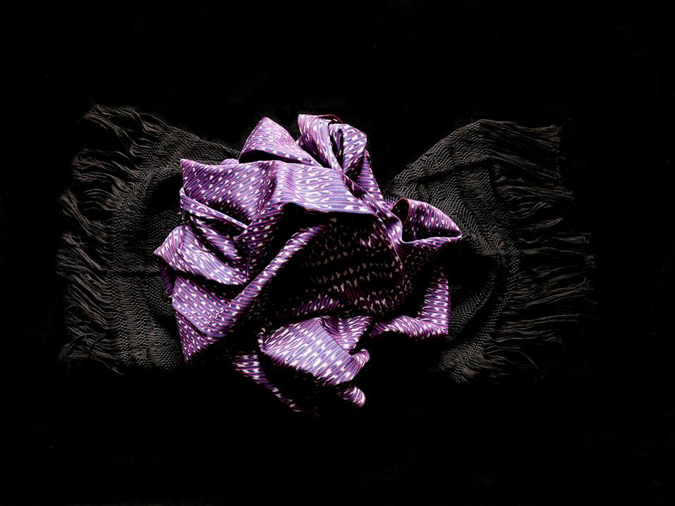 rebozo deluxe purpur 3Gal