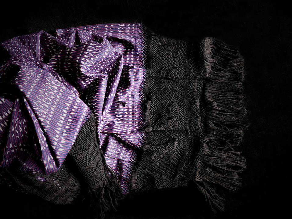 rebozo deluxe purpur 4Gal